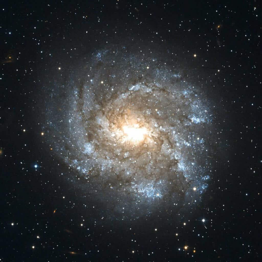 フィボナッチ-渦巻銀河